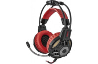 Наушники Defender Redragon Lester Black-Red (64205)