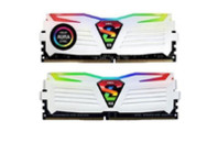 Модуль памяти для компьютера 16GB (2x8GB) 2400 MHz Super Luce White RGB Sync LED GEIL (GLWS416GB2400C16DC)