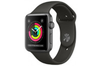 Смарт-часы Apple Watch Series 3 GPS, 38mm Space Grey Aluminium Case (MQKV2FS/A)
