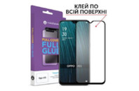 Стекло защитное MakeFuture Full Cover Full Glue Oppo A5s (MGF-OPA5S)