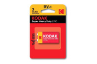 Батарейка крона Kodak 6F22 Super Heavy Duty ZINC
