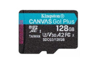 Карта памяти Kingston 128GB microSD class 10 UHS-I U3 A2 Canvas Go Plus (SDCG3/128GBSP)