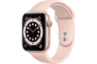 Смарт-часы Apple Watch Series 6 GPS, 44mm Gold Aluminium Case with Pink Sand (M00E3UL/A)
