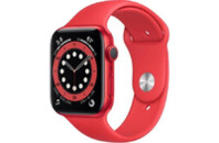 Смарт-часы Apple Watch Series 6 GPS, 44mm PRODUCT(RED) Aluminium Case with PR (M00M3UL/A)