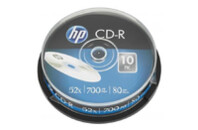 Диск CD HP CD-R 700MB 52X 10шт Spindle (69308/CRE00019-3)